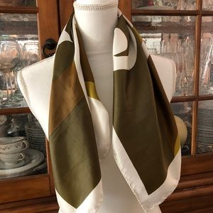 Vintage patriotic scarf